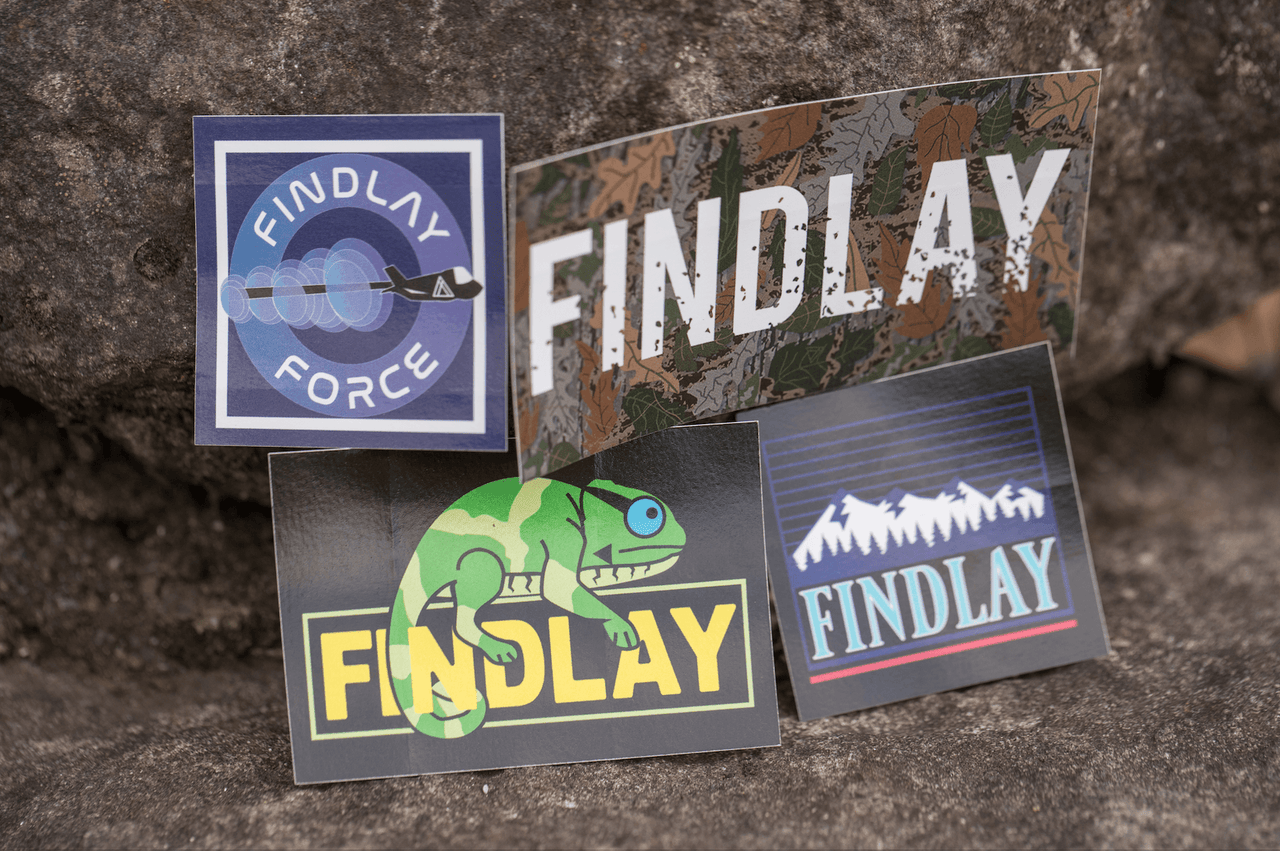 Friendly Sticker Pack Accessories Findlay Hats
