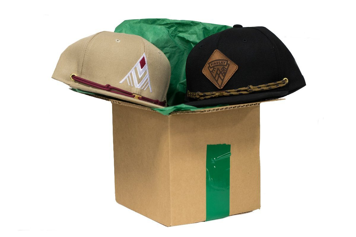 2 Hat Welcome Box Trial Force Findlay Hats