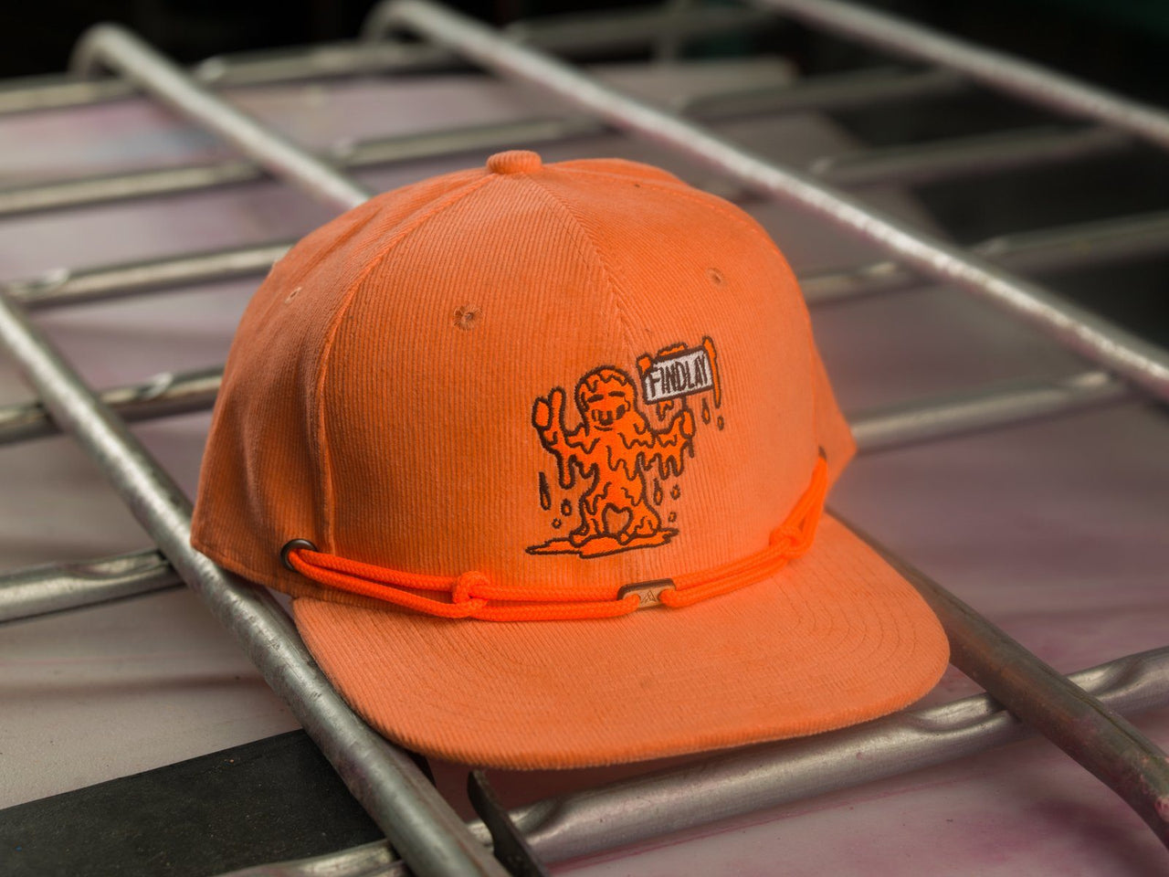Peach Man (1 of 36) Limited Edition Hats Findlay Hats