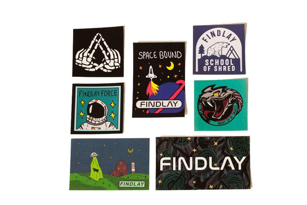 Free Stickers! Accessories Findlay Hats