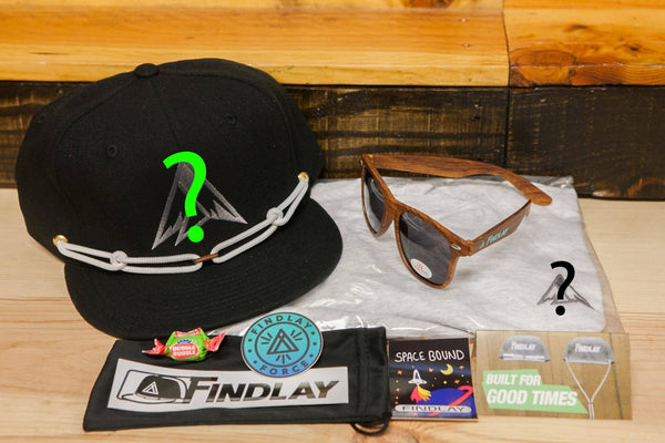 Mystery Welcome Box Trial Force Findlay Hats