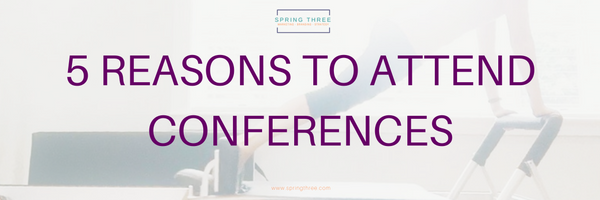5 Reasons To Attend Conferences