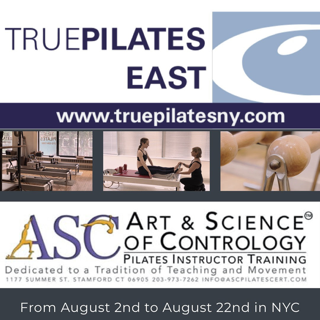 Art and Science of Contrology Pilates Instructor Training Program