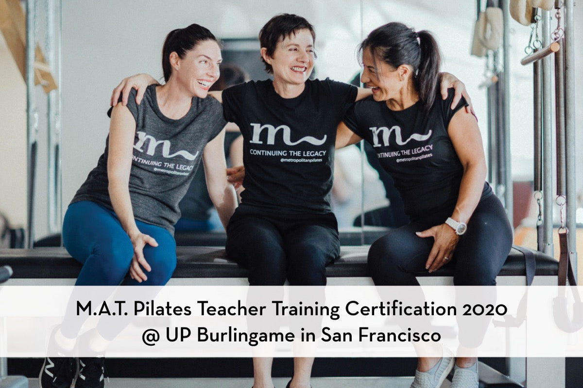 M.A.T Pilates Certification Training Program at Urban Pilates with April Tillman Banner