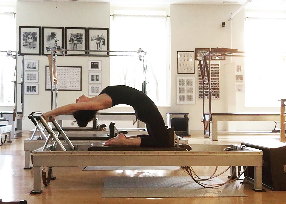 Back Bend on Reformer Elaine Ewing