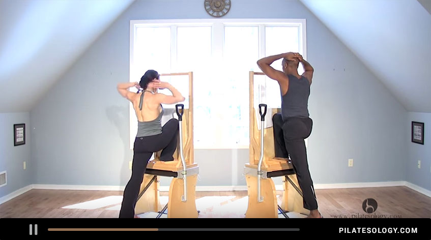 Pilatesology: The High Chair Booty Lift with Kathryn Ross Nash | Gratz™ Pilates