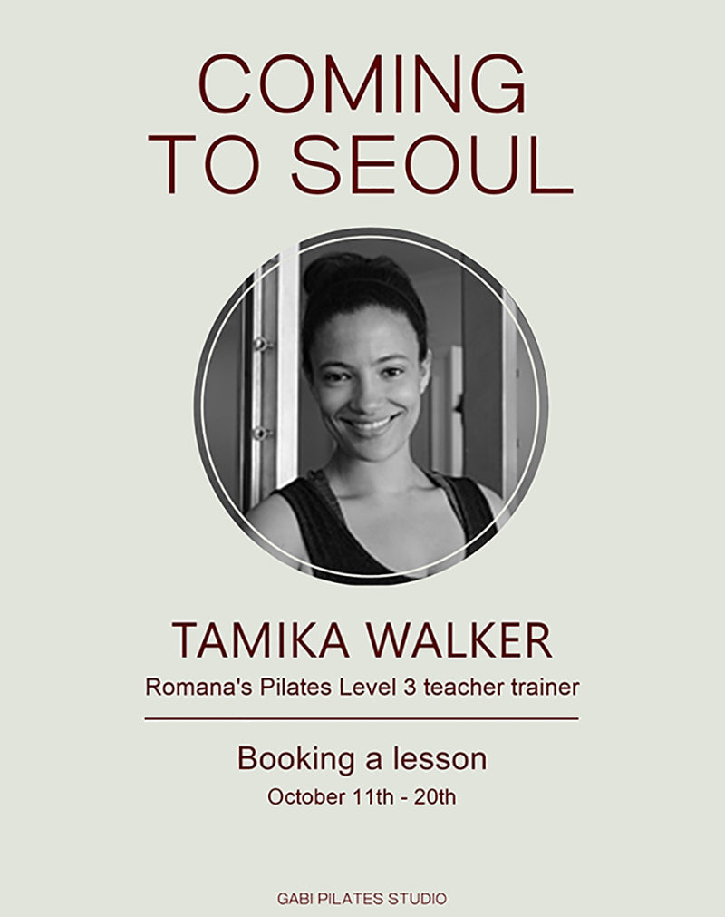 Coming to Seoul, Tamika Walker