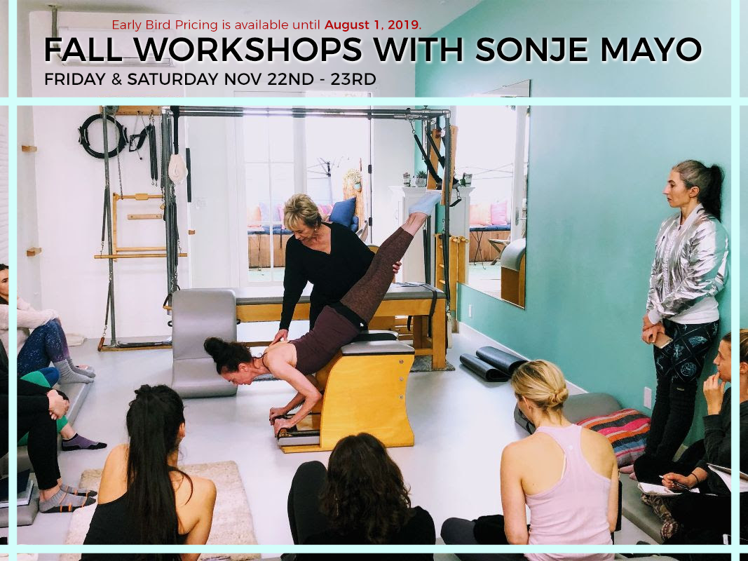 Grataz Sonje Mayo Fall Workshop