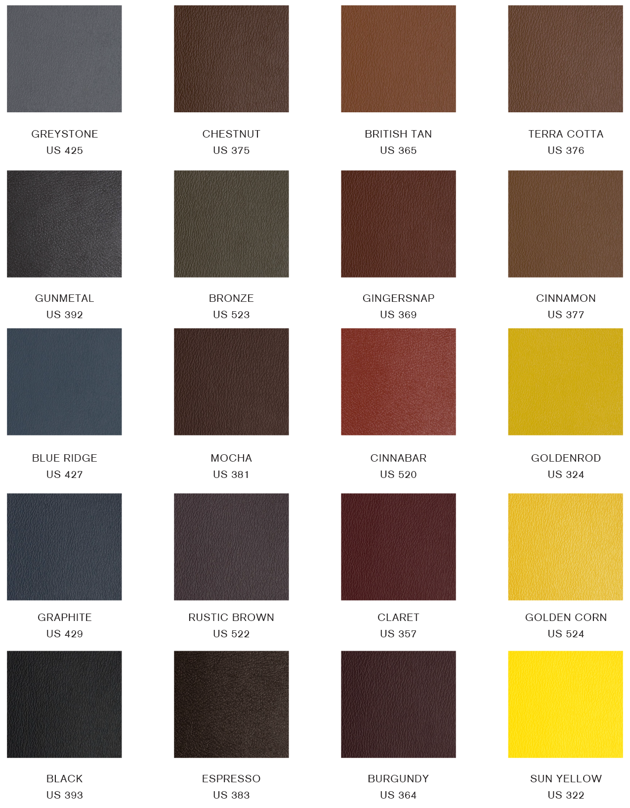 Upholstery swatch chart gratz pilates industries download swatch chart nvjuhfo Choice Image