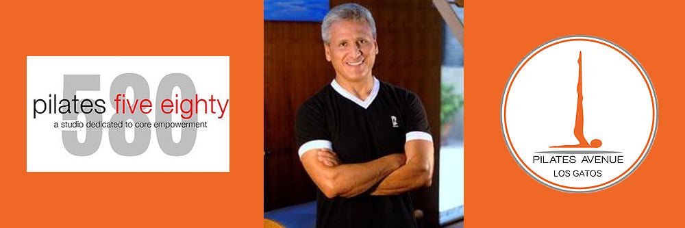 Moses Urbano at Pilates Five Eighty Oakland and Pilates Avenue Los Gatos