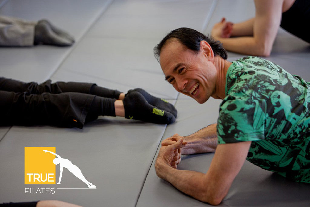 Workshop Instructor Jerome Weinberg at True Pilates Italy