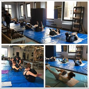 Group Mat Class   A Weekend with Cynthia Shipley At True Pilates Boston