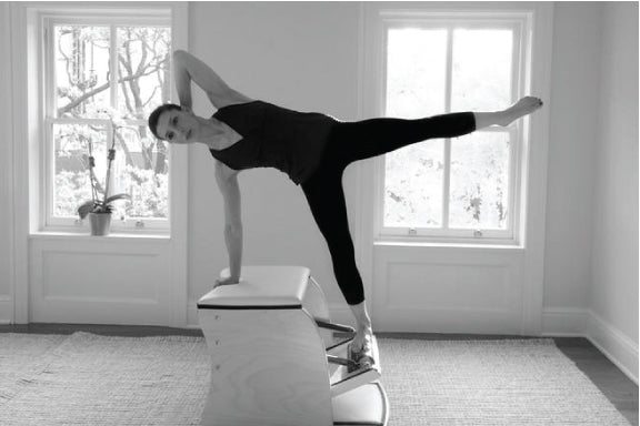 Gratz Gallery | Ilaria Cavagna performing the Star on the Wunda Chair