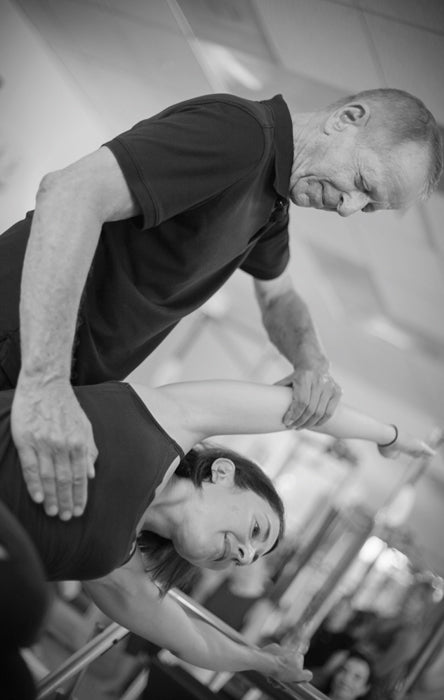 Gratz Gallery | Jay Grimes teaching Andrea Maida on the Universal Reformer