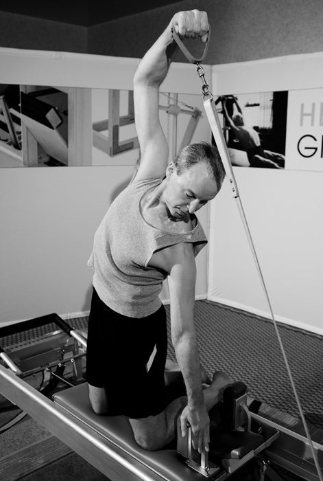 Gratz Gallery | Peter Fiasca performing the Swakate Series on the Universal Reformer