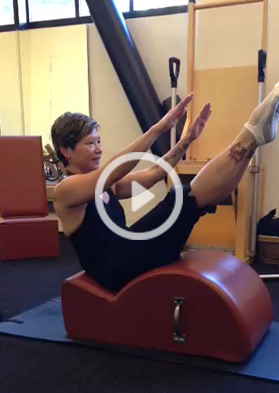 The Pilates Center of San Francisco | Spin Corrector Exercise