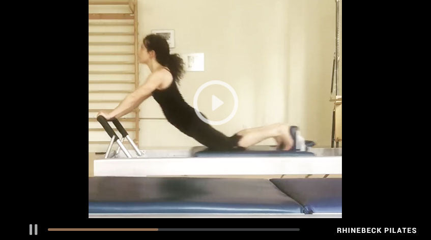 Down Stretch On The Reformer | Something Moves By Elaine Ewing | Rhinebeck Pilates