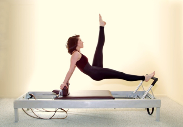 The dimensions, weight, wheels, and leather straps, are designed to create resistance on the reformer.