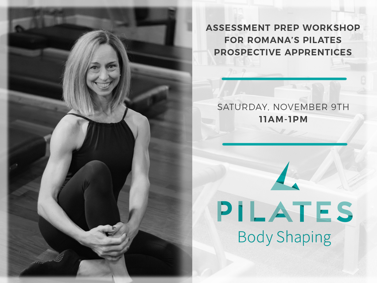 Pilates Body Shaping Featuring Cara Walker Banner