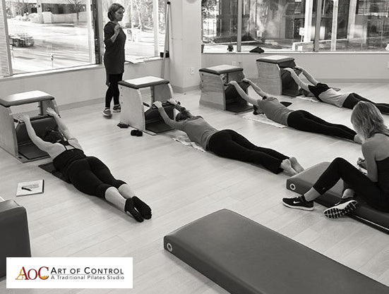 Michael Fritzke and Ton Voogt at The Art Of Control Pilates Studio