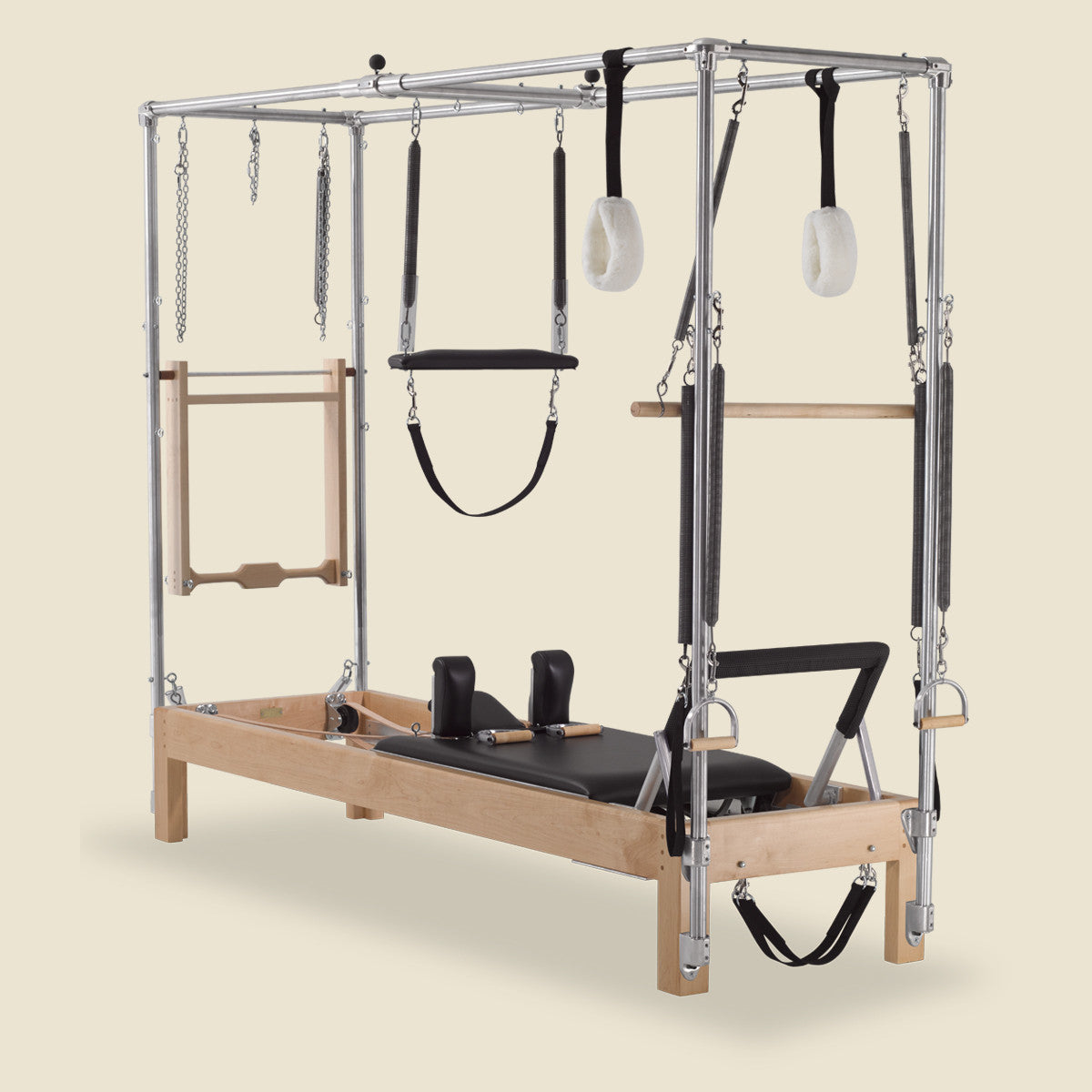 "Cadillac Pilates: Instant Full Cadillac Conversion With 86"" Universal Reformer - Gratz™ Pilates"