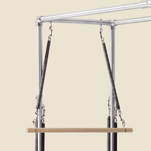 "GRATZ PILATES ROLL DOWN BAR WITH ""S"" HOOKS"