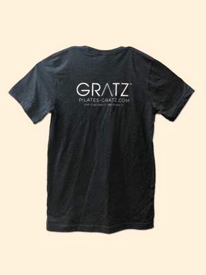 GRATZ Unisex Next Level T-shirts Dark Heather Grey