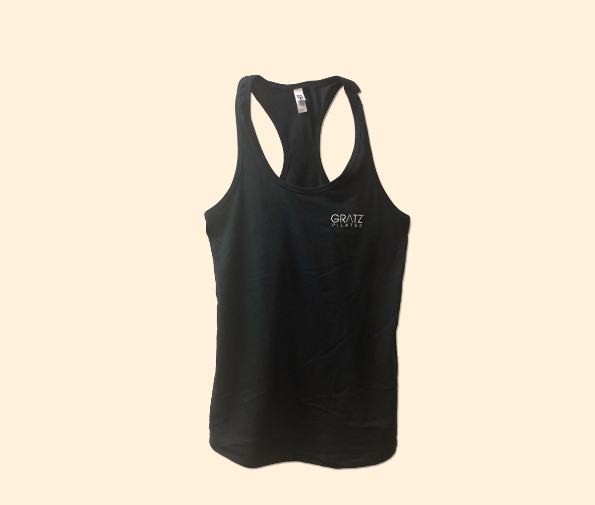 GRATZ Women's Racerback Sleeveless T-Black