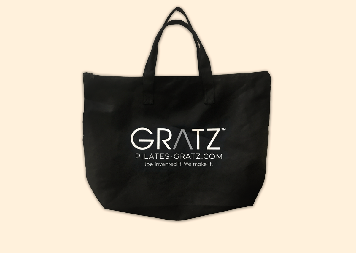 GRATZ Large Black Gym Bag