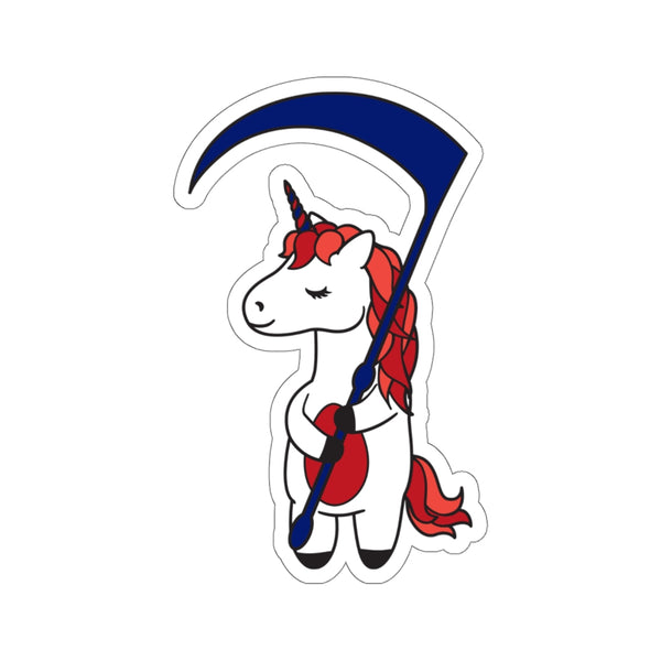 SCYTHE Red Team Unicorn Sticker
