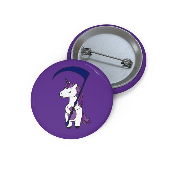 Purple Team Pin Buttons