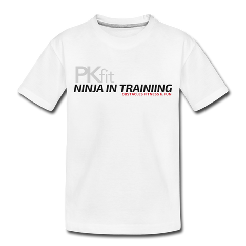 Ninja In Training - Toddler - T-shirt - white