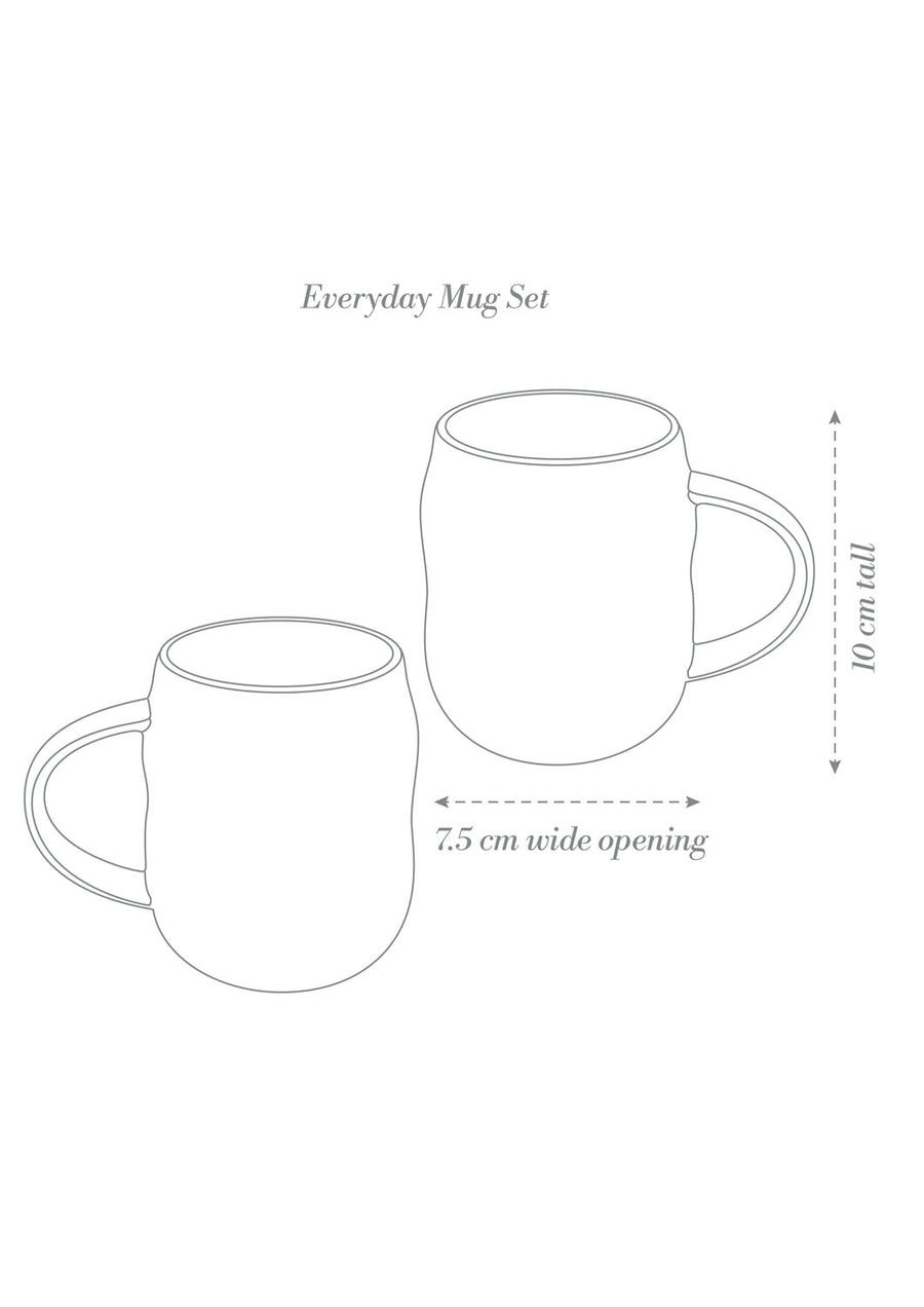 Everyday Mug Set Hakea x 2