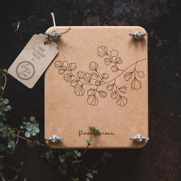 Flower Press Mini │Fern