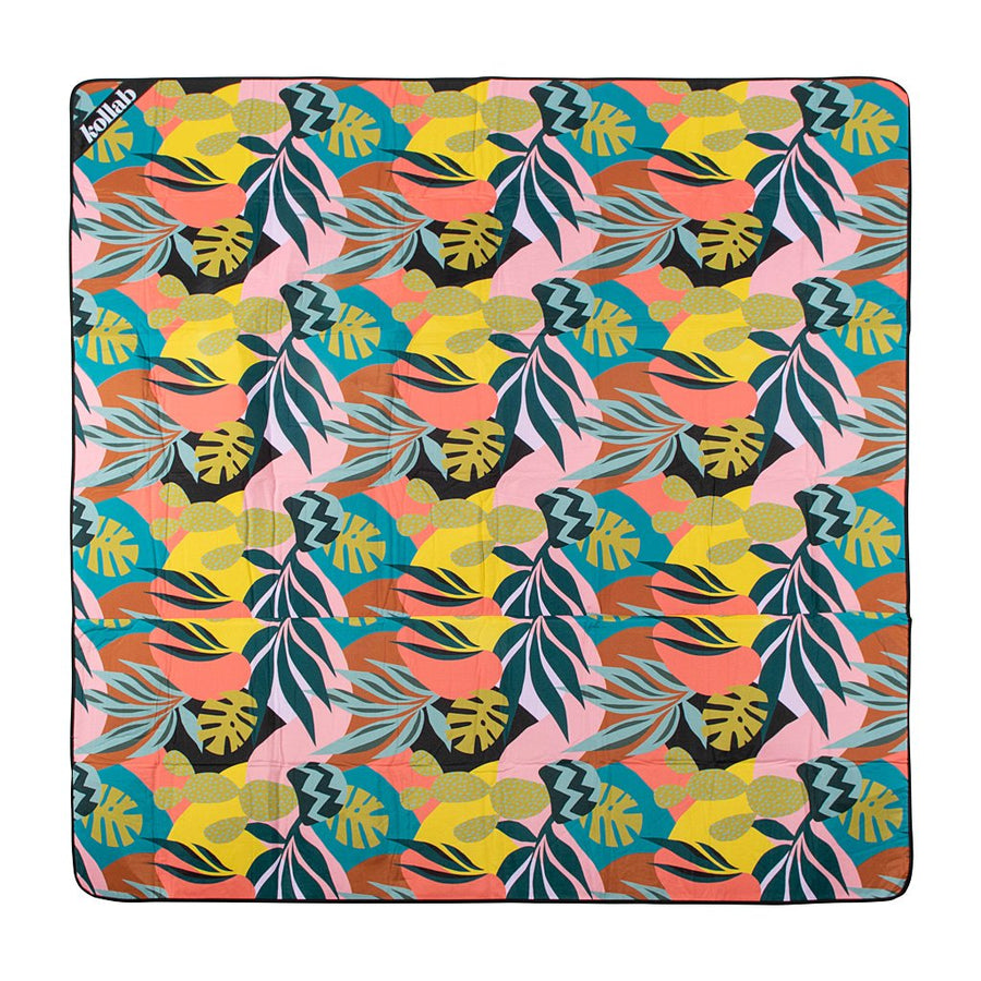 Monstera Cactus Picnic Mat