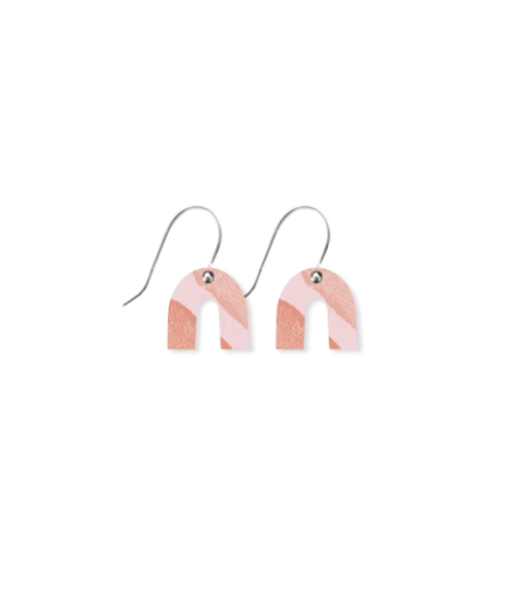 Classic Akweke Stories Small Rainbow Arch Drop Earrings
