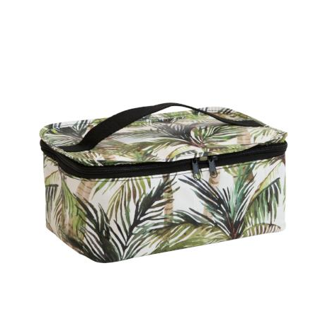 Green Palm │ Toiletry Stash Bag