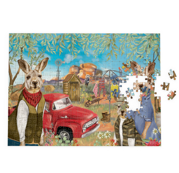 1000 Piece Puzzle | Sunny Outback Mischief