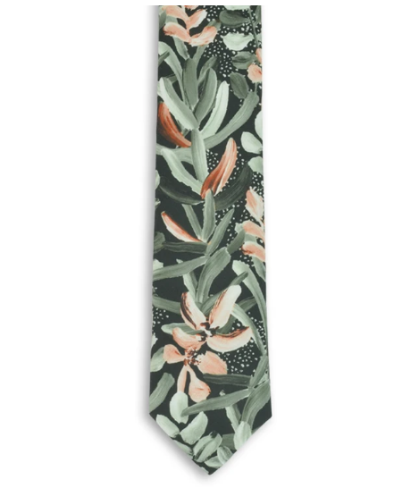 Cotton Tie | Protea Green