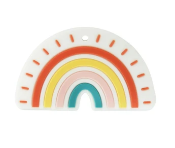 Eco Friendly Rainbow Teether Toy