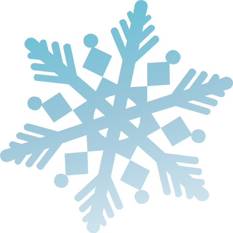 Snowflake Window Clings