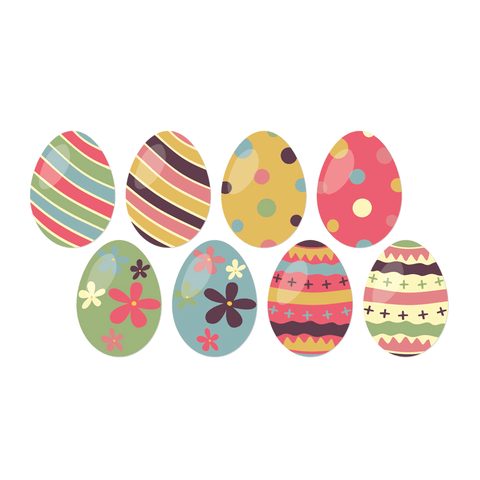 Easter Egg & Easter Clings