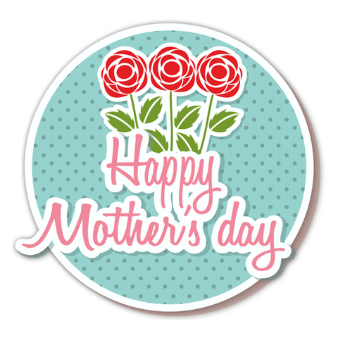 Mother's Day Window Clings