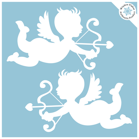 Cherub Window Clings (set of 2)