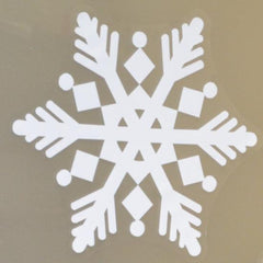 Snowflake window cling snowflakes - Christmas Decorations - Snowflakes for Winter Window