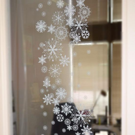 39 Quot Snowflake Decal Borders 24 From Window Flakes