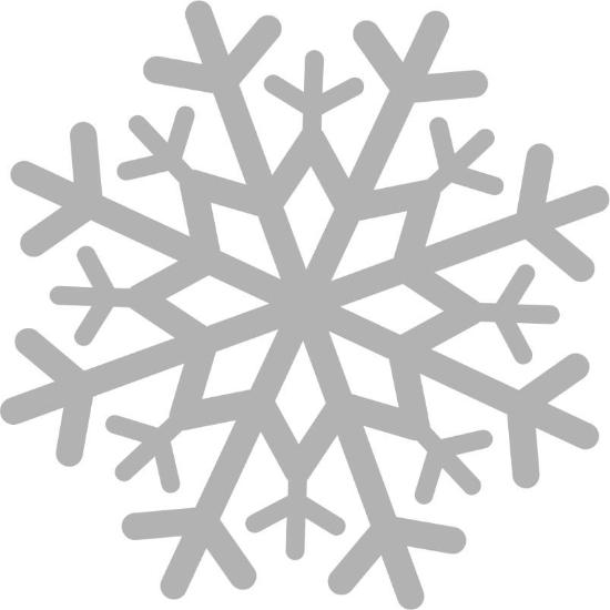48 Quot Snowflake Decal Cling Window Flakes