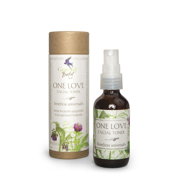 One Love Toner Grateful Body firming wrinkle aging organic vegan cruelty-free