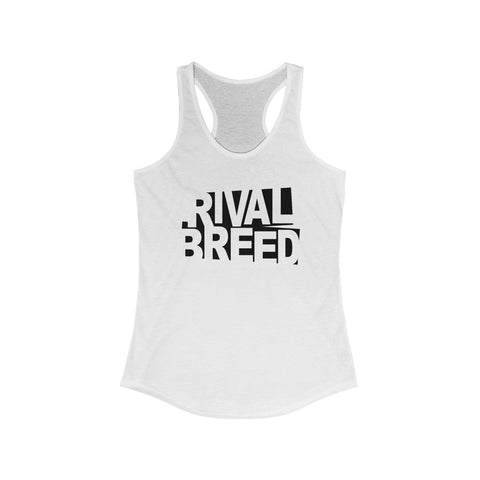 Black/White LadiRacerback Tank
