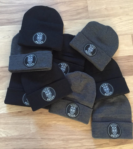 Rival Breed Sugar Skull Beanie Hat